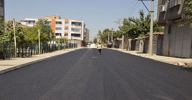Bağlar ve Dicle'de sıcak asfalta başlandı