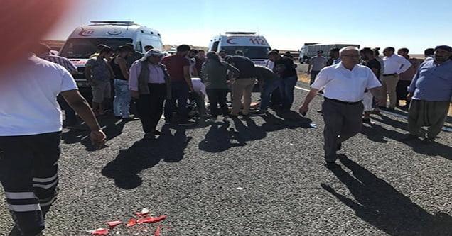 Siverek'te trafik kazası: 1 ölü 4 yaralı