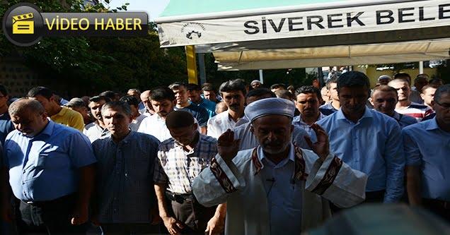 Şehit öğretmen Necmettin Yılmaz için gıyabi cenaze namazı kılındı
