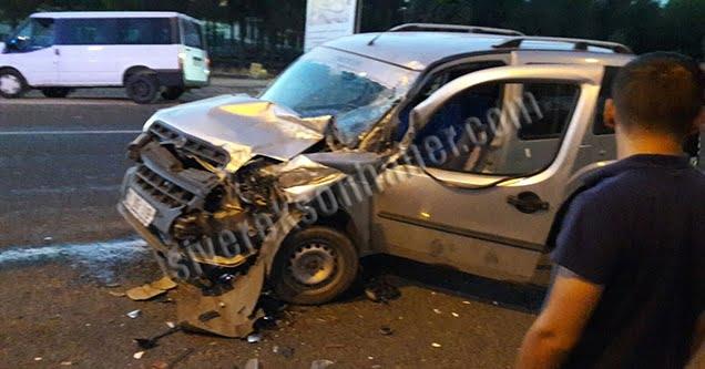 Siverek'te iki ayrı trafik kazası: 3 yaralı