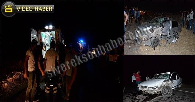 Feribot yolunda trafik kazası: 6 yaralı