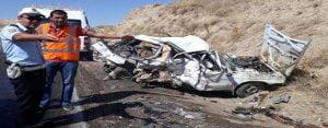 Siverek – Kahta karayolunda kaza: 1 ölü