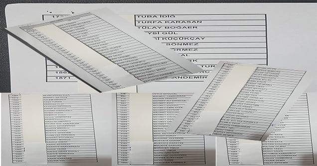 2 bin 500 kişinin başvurduğu İŞ-KUR listesi yayımlandı