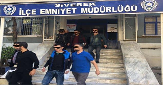 Aranması bulunan 7 kişi gözaltına alındı