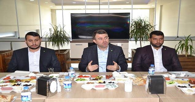 HÜDA-PAR Genel Başkan Yardımcısı Yavuz Siverek'te