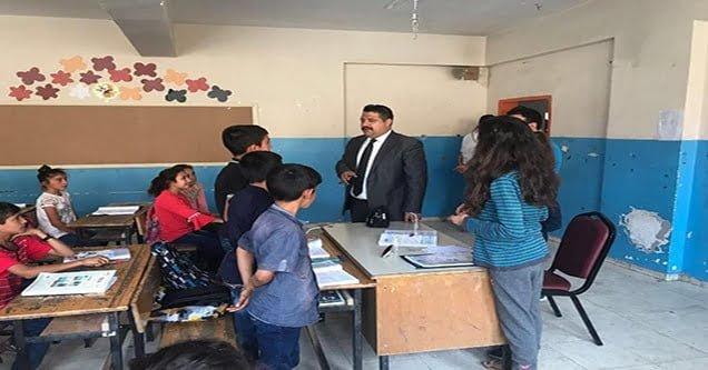 Siverek'teki okullarda denetimler başlatıldı