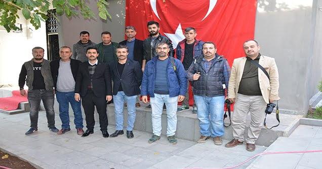 MHP İlçe Başkanı basınla bir araya geldi