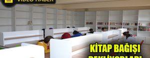 Okul kütüphanesi kitap bağışı bekliyor