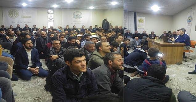 'İslam'da çalışma ve davetin önemi' konferansı düzenlendi