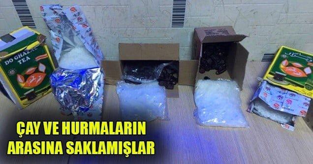 Siverek'te uyuşturucu ve silah kaçakçılığı operasyonu