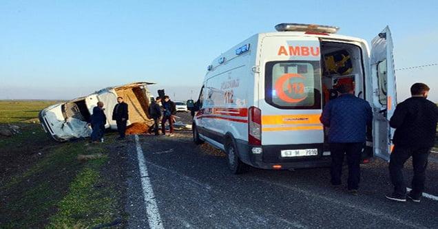 Siverek'te üç ayrı trafik kazası: 7 yaralı