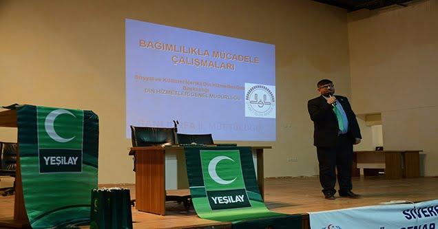 Siverek'te imam ve öğreticilere madde bağımlılığı semineri