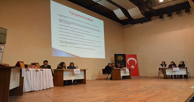Siverek'te ortaokullar arası bilgi yarışması