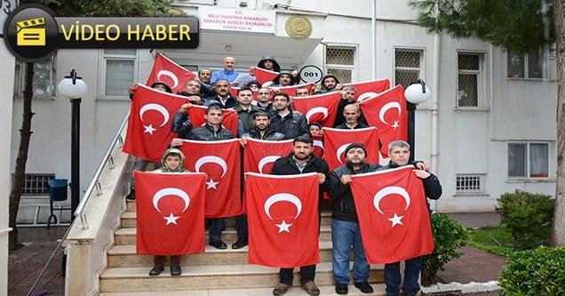 Engellilerden Zeytin Dalı harekatına destek