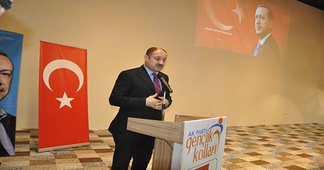 AK Parti Siverek Gençlik Kolları kongresi yapıldı
