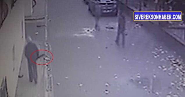 Siverek'te otomobilden hırsızlık kameralara yansıdı
