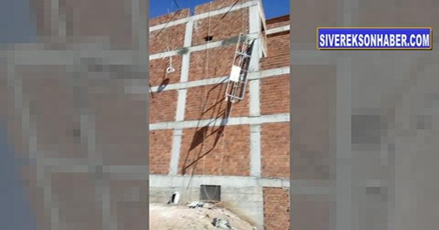 İşçiler inşaattan düştü: 1 ölü, 1 yaralı