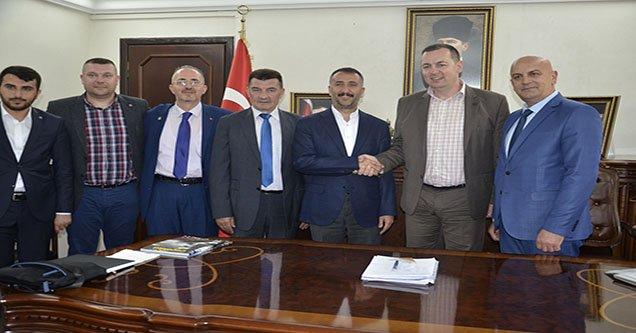 Başkan Resul Yılmaz, Balkan milletvekillerini ağırladı