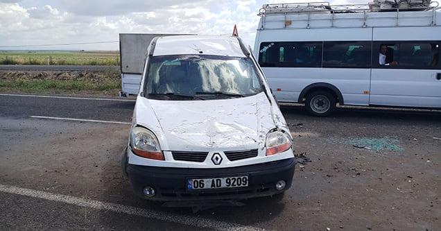 Siverek'te trafik kazası: 6 yaralı