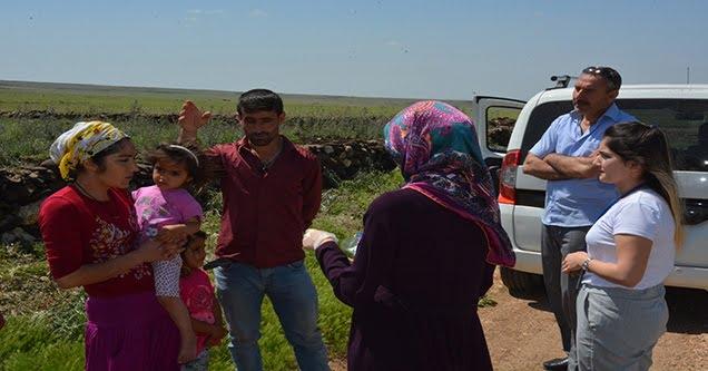 Mobil sağlık ekipleri kırsal mahalleleri bilgilendiriyor