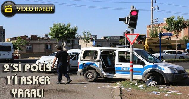 Siverek'te kaza: 2 polis ve 1 uzman çavuş yaralı