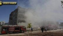 Yoğun duman mahalleyi sardı