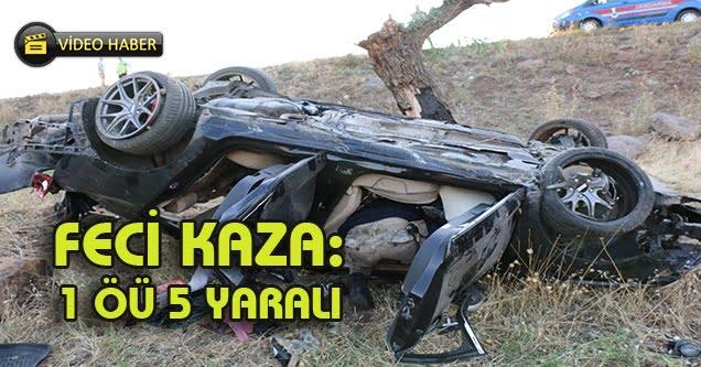 Siverek'te feci kaza: 1 ölü 5 yaralı