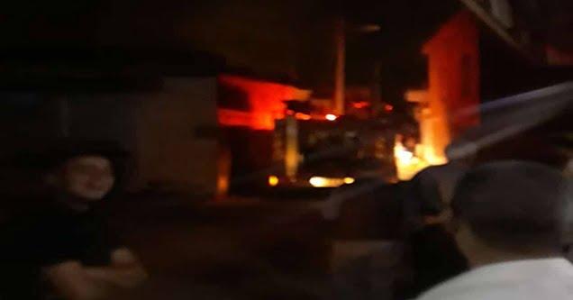 Suriyeli ailenin yaşadığı evde yangın