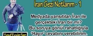 İran Gezi Notlarım – 1