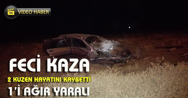 Otomobil takla attı: 2 ölü 1 yaralı