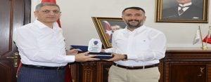 Emniyet Müdürü Yener Gül, veda ziyaretlerine başladı