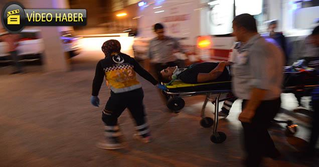 Ambulansında karıştığı kazada 6 kişi yaralandı