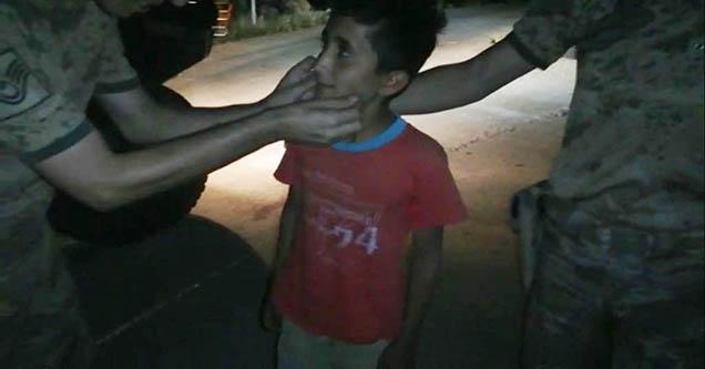 Kaybolan çocuk Jandarma ekiplerince bulundu