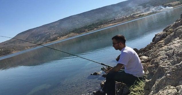 Sportif olta balıkçıları kıyasıya mücadele etti
