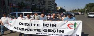 Halk Sağlığı Haftası'nda yürüyüş etkinliği