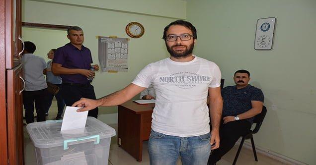 Sağlık-Sen'de delege seçimi