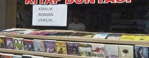 Kırtasiyeciden örnek uygulama: Kiralık roman