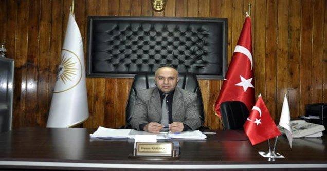Başkan Yardımcısı Karakaş istifa etti