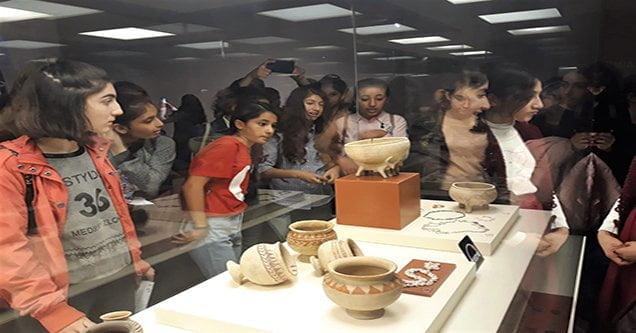 Öğrencilere tarihi mekanlar tanıtıldı