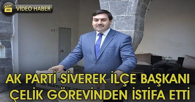 AK Parti Siverek İlçe Başkanı görevinden istifa etti