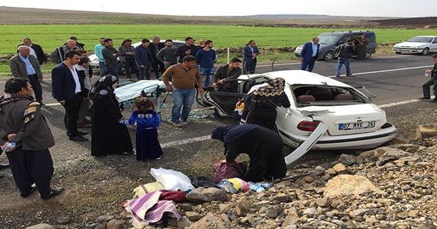 Feribot yolunda trafik kazası: 2'si ağır 4 yaralı