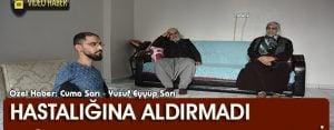 DMD hastası Hasan, hayata küsmedi