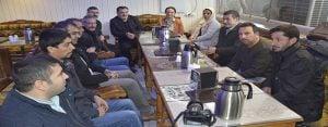 HDP Eş Başkanları gazetecilerle bir araya geldi