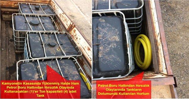 Ham petrol hırsızlığı operasyonu: 9 gözaltı