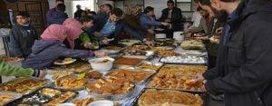 Hayrat Siverek'ten yetimler yararına kahvaltı