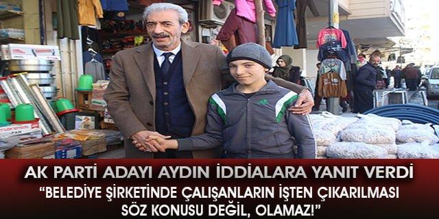 """Şeyhmus Aydın: """"Herkes işine devam edecek!"""""""