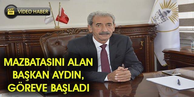 Belediye Başkanı Şeyhmus Aydın göreve başladı