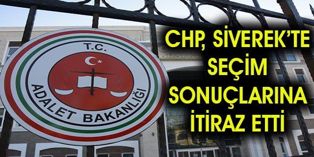CHP, sonuçlara itiraz etti