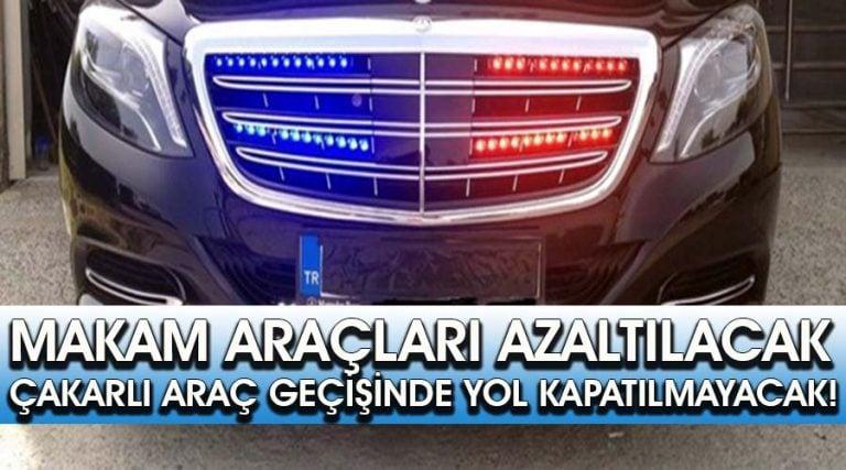 Erdoğan'dan makam aracı talimatı