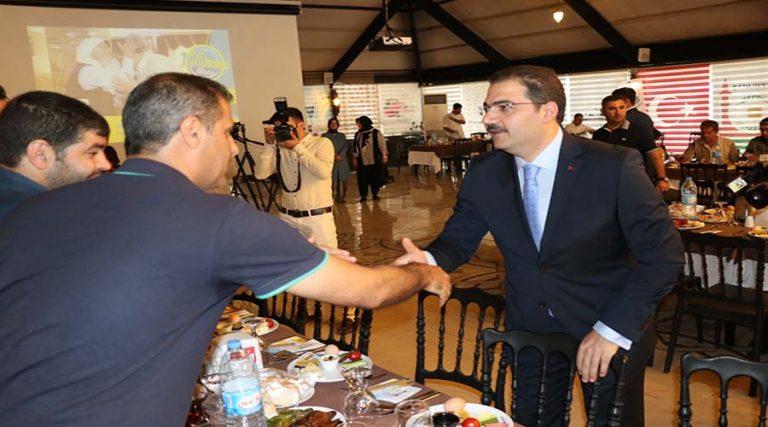 Haliliye Belediyesinin 100 günlük en büyük başarısı: Plaket
